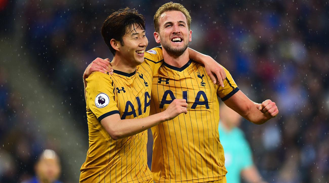 Harry Kane Scores Four Goals For Tottenham At Leicester