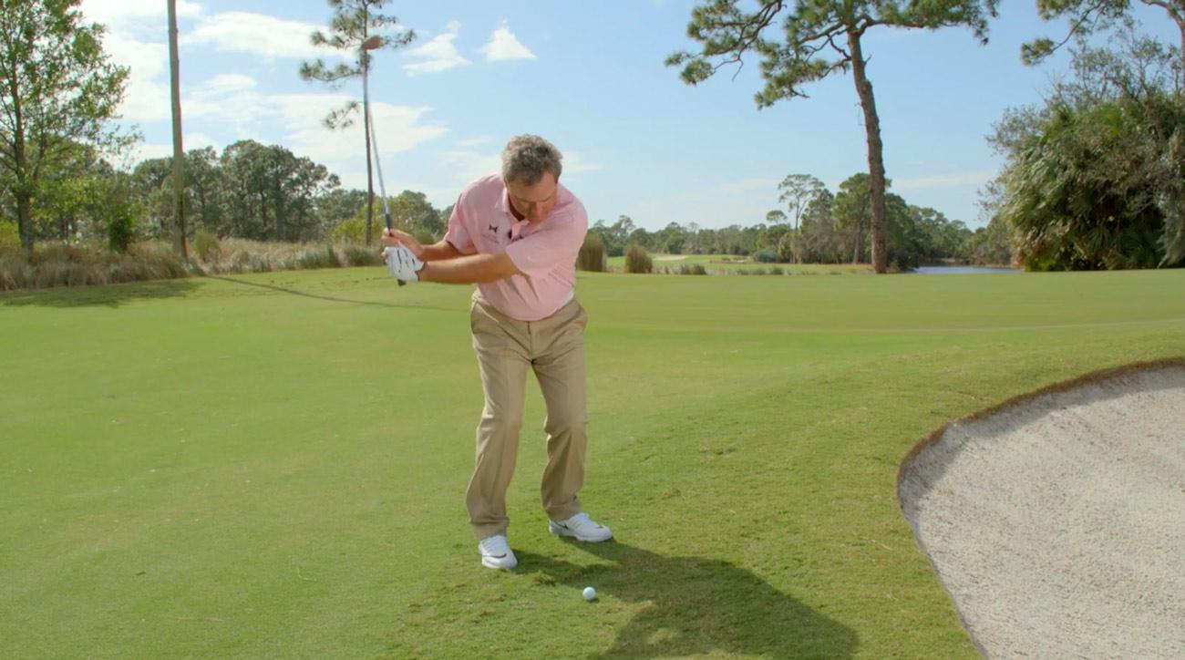 Learn how to flop it close without thinking.