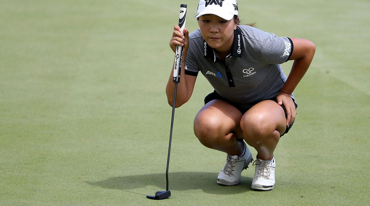 Lydia Ko's new PXG Bat Attack putter is her fourth putter change of the 2017 season.