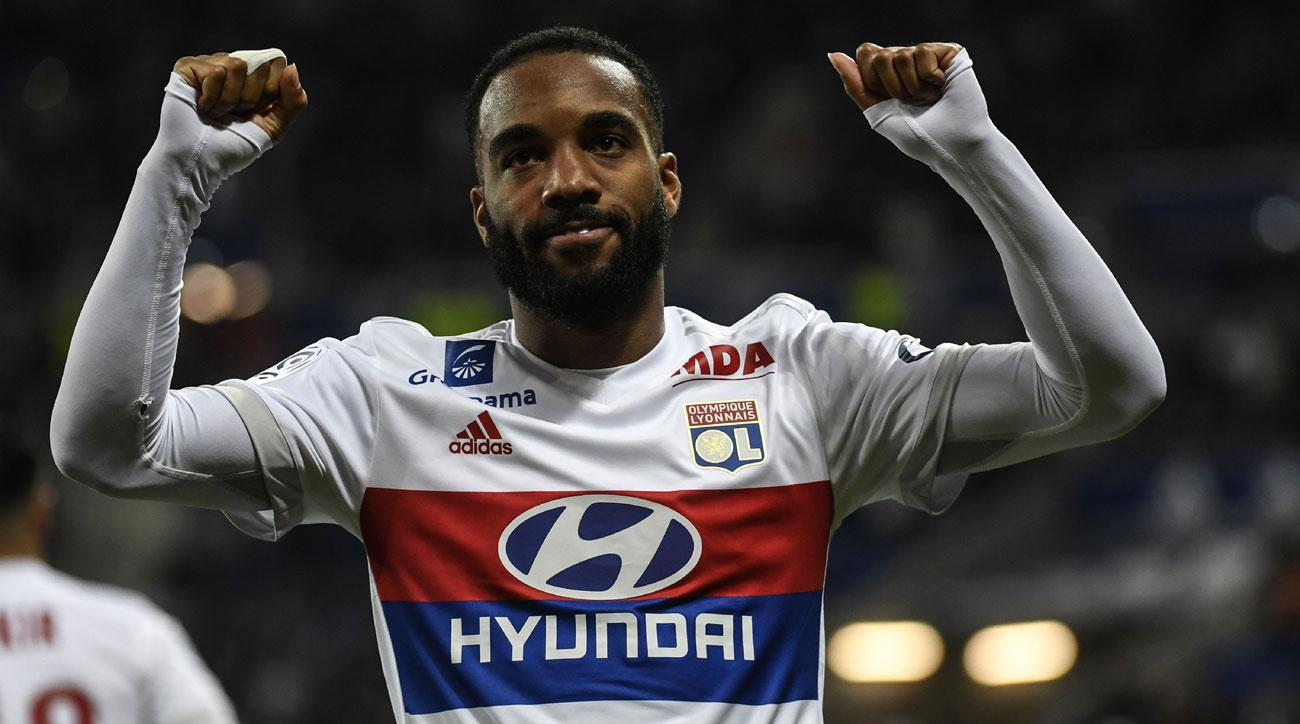 Alexandre Lacazette is expected to leave Lyon for Atletico Madrid