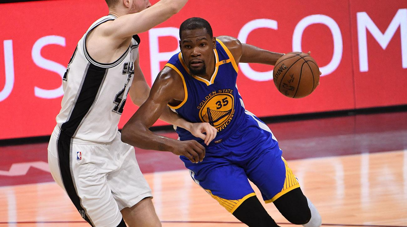 Western Conference Finals: Golden State Warriors vs. San Antonio Spurs Game 3 Game Action