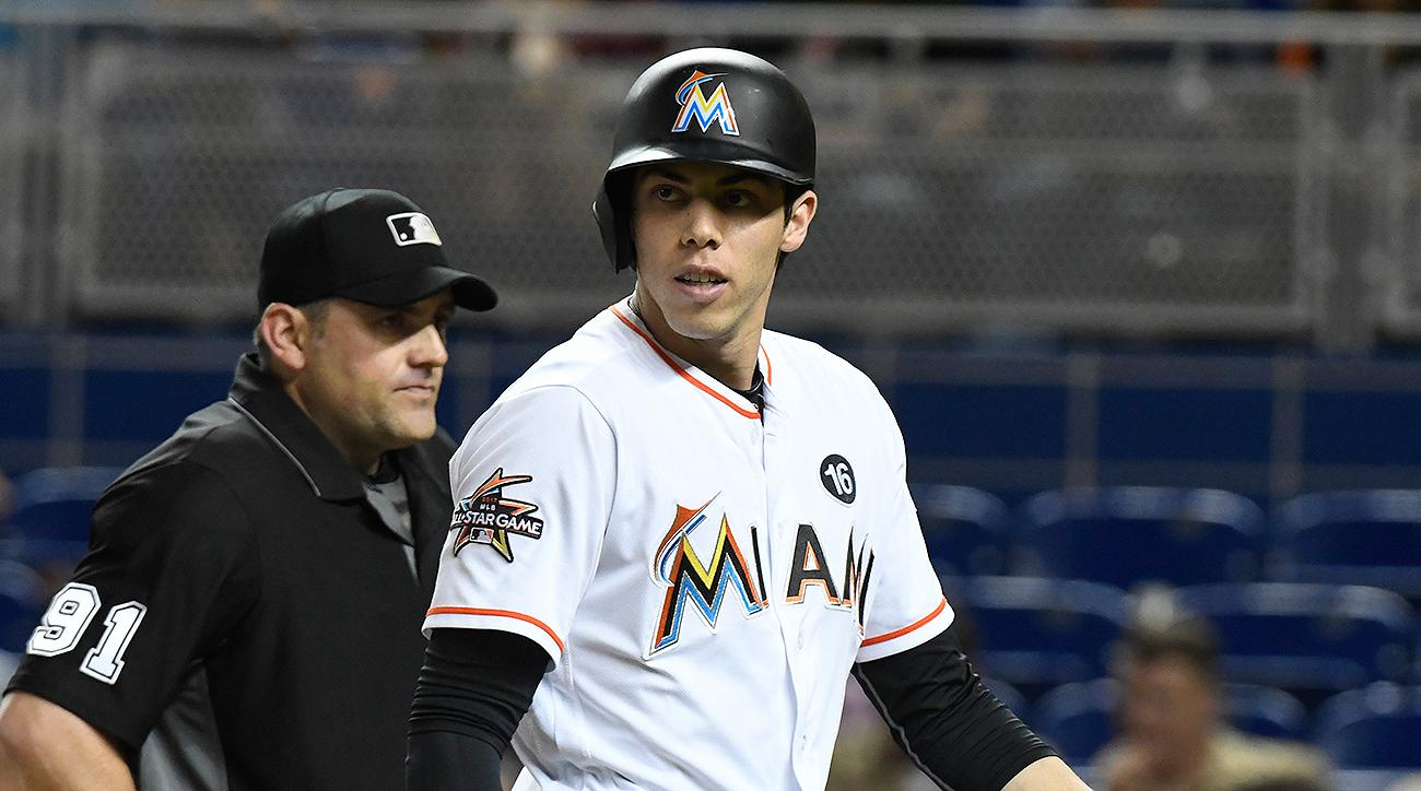 Miami Marlins Christian Yelich