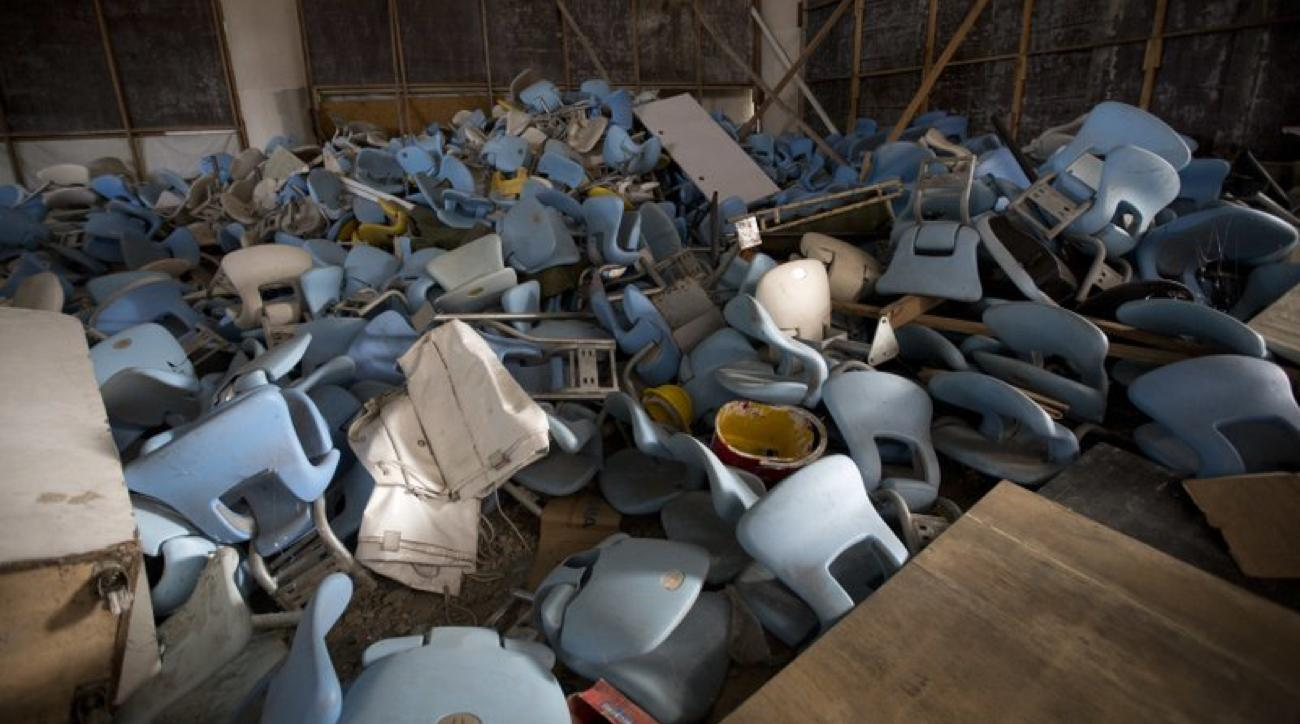 rio olympic venues abandoned photos