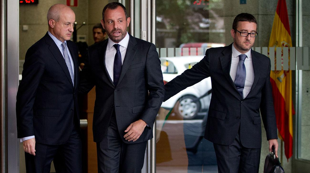 Sandro Rosell has been detained over money laundering