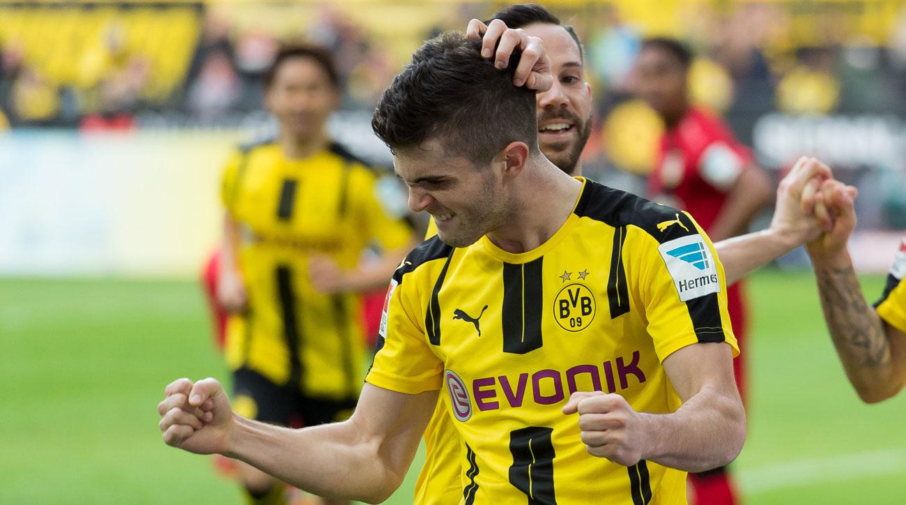 Christian Pulisic enjoyed a strong first full season with Borussia Dortmund
