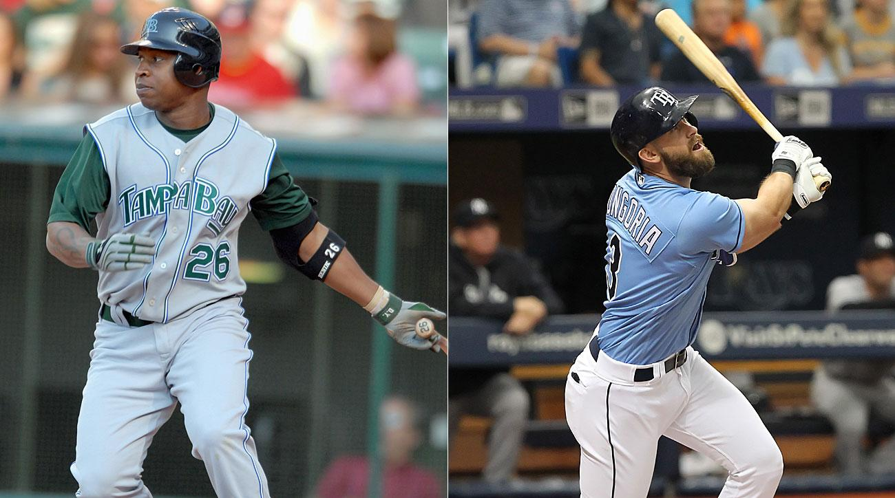 Delmon Young and Evan Longoria, Tampa Bay Rays