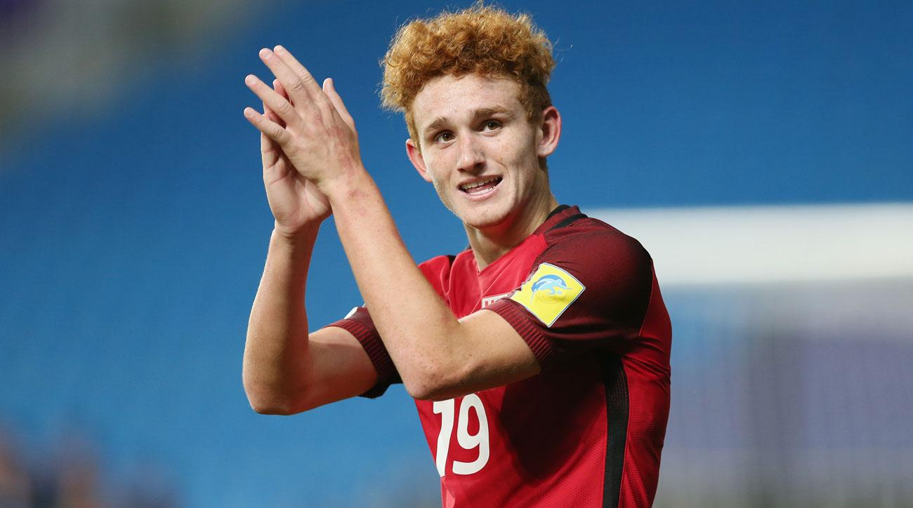 USA's Josh Sargent has three goals in two games at the U-20 World Cup