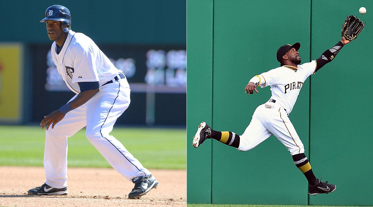 Cameron Maybin, Detroit Tigers; Andrew McCutchen, Pittsburgh Pirates