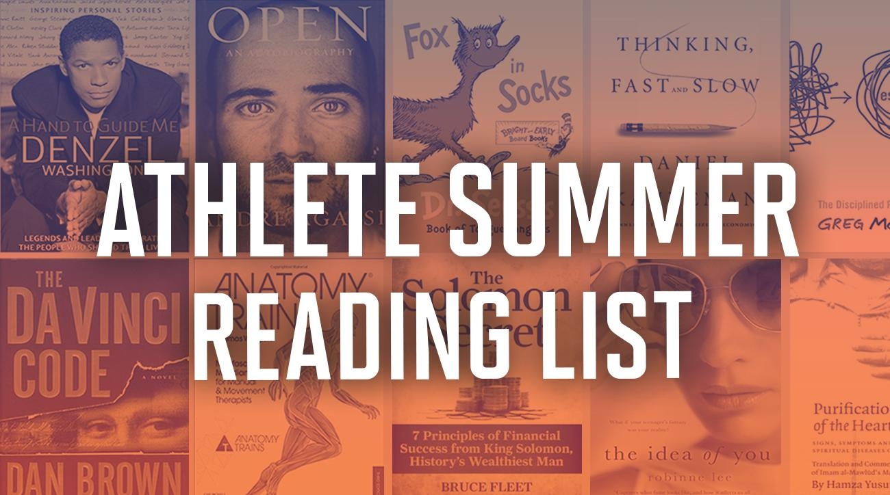 Athlete summer reading list