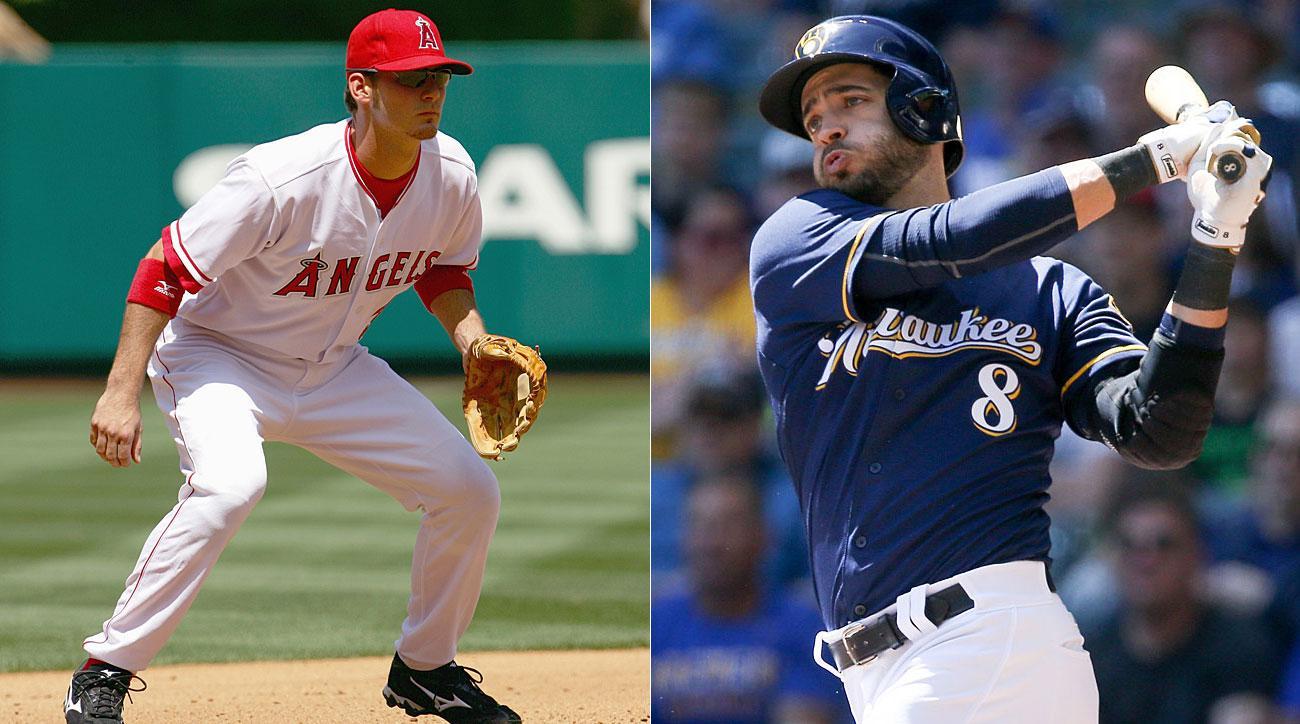 Brandon Wood, Los Angeles Angels; Ryan Braun, Milwaukee Brewers