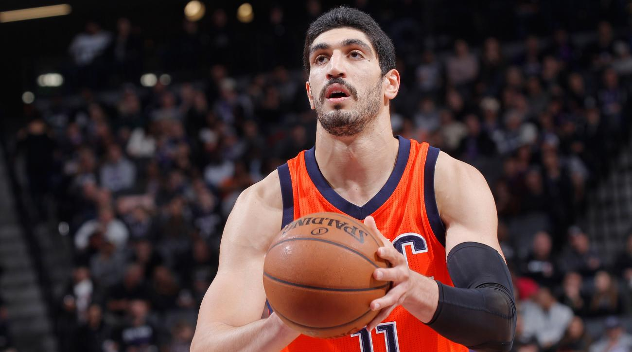 enes kanter  okc says father arrested by turkish