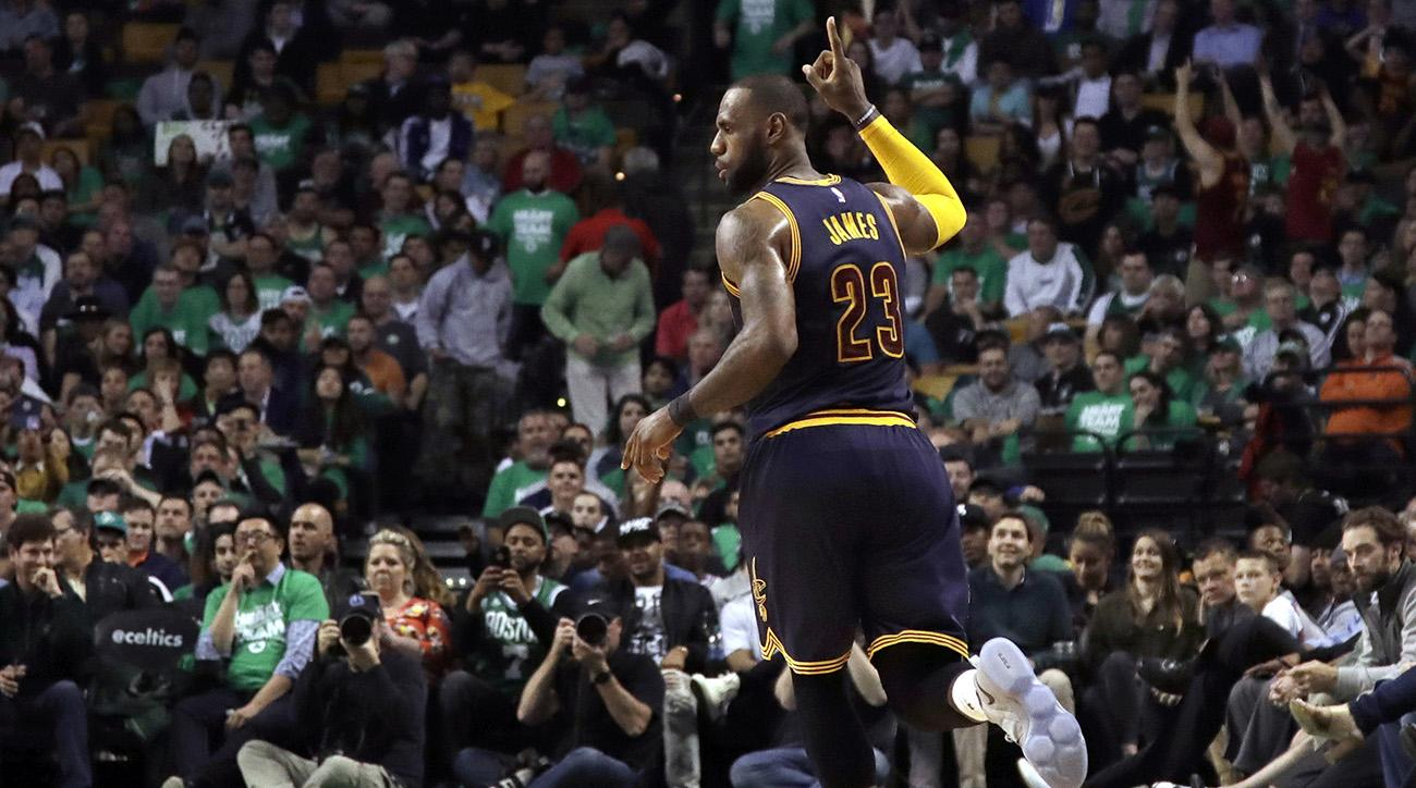 'King' James reigns as Cavs-Warriors in the NBA Finals, again