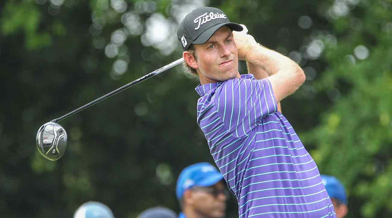 Webb Simpson has a two-shot lead heading into the final round at Colonial.