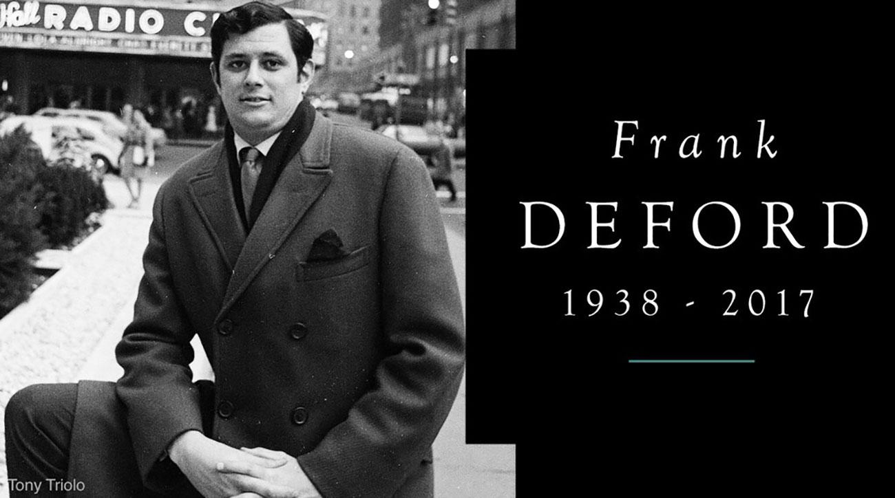 frank deford obituary si