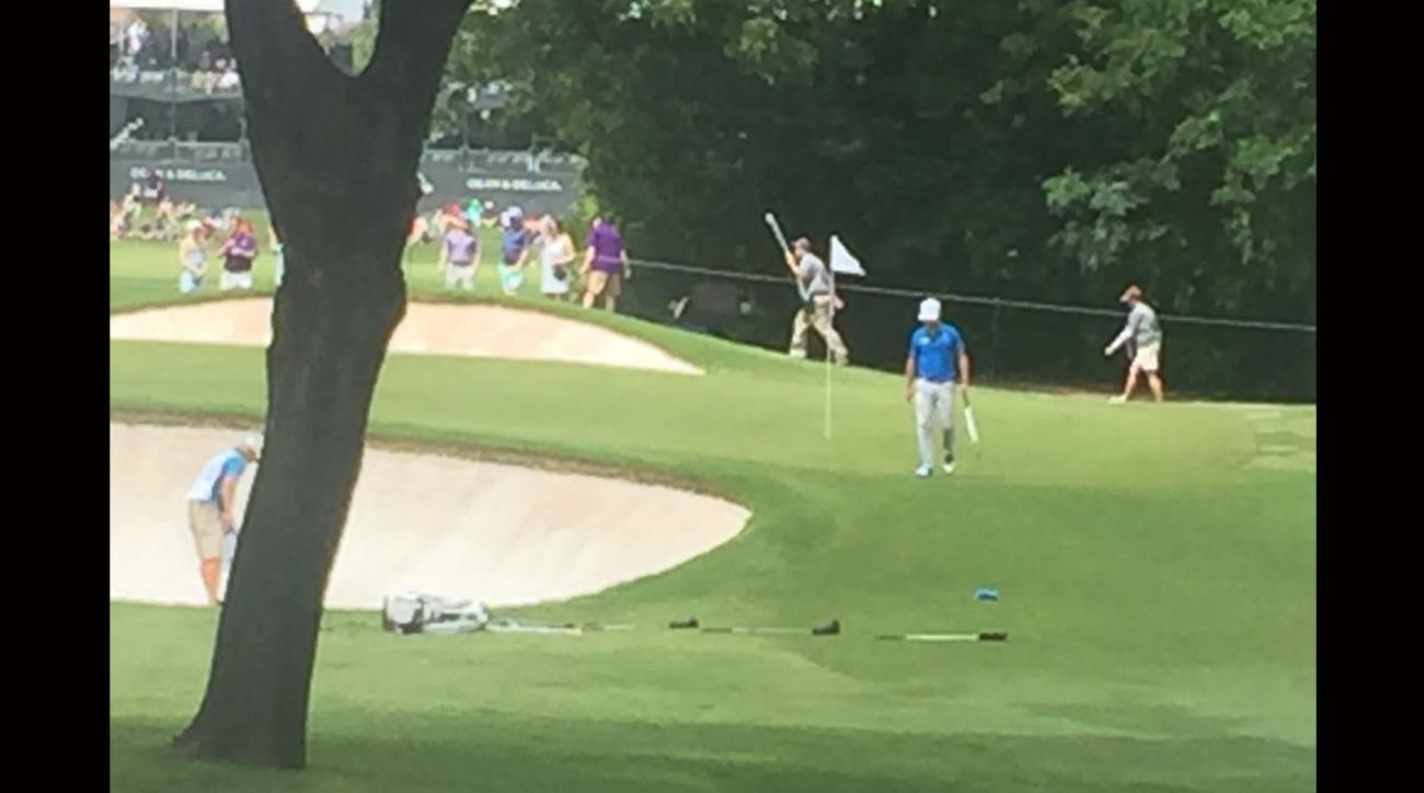 Zach Johnson pictured during the third round of the Dean & Deluca Invitational.
