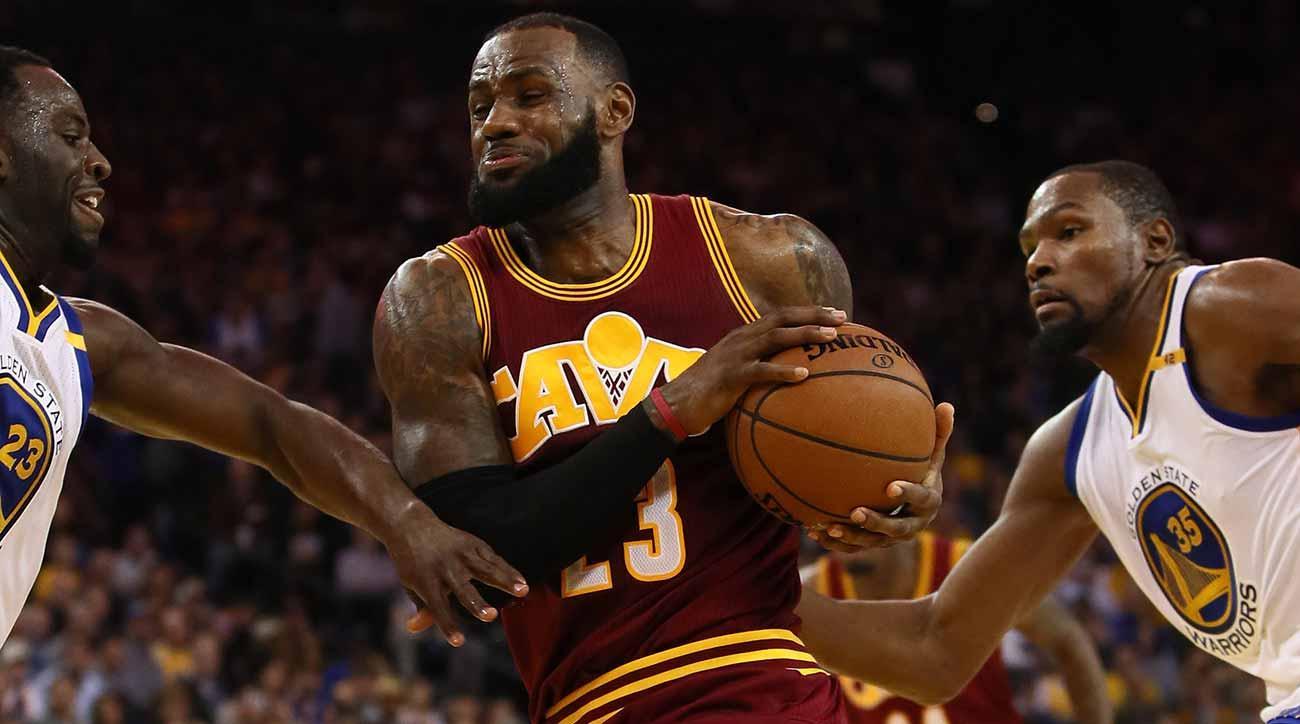 2017 NBA Finals: Gambling odds, lines for Cavaliers ...