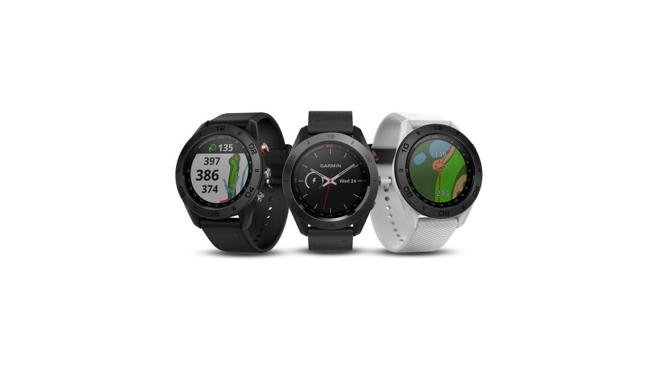 The new Garmin Approach S60 watch.
