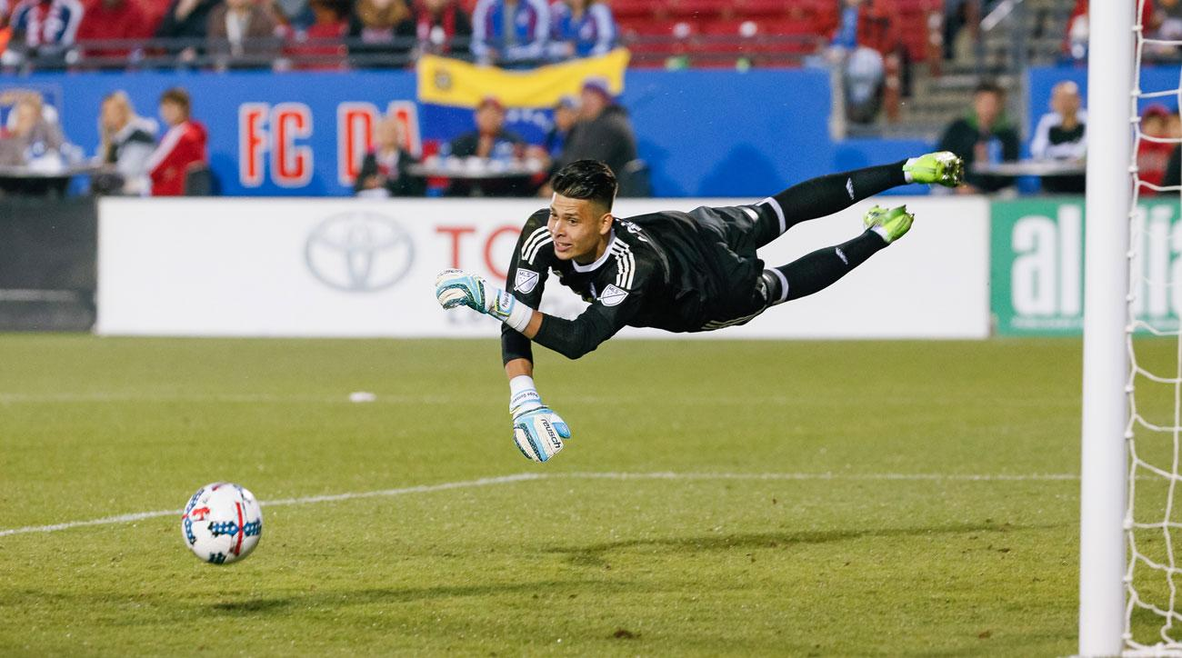 Jesse Gonzalez is on the USA's preliminary roster for the Gold Cup