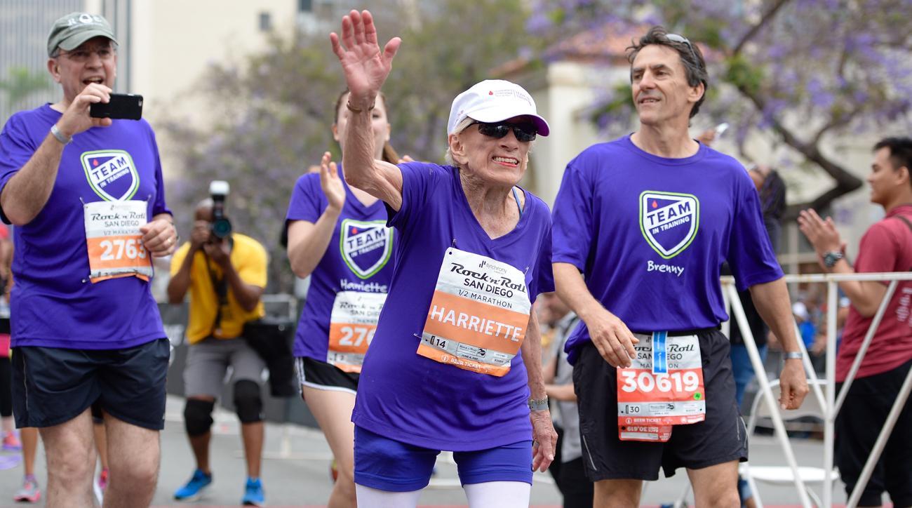 harriette thompson oldest half marathon woman