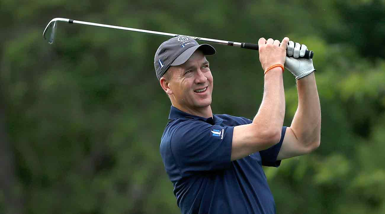 Peyton Manning reportedly hit the links with the president on Sunday.