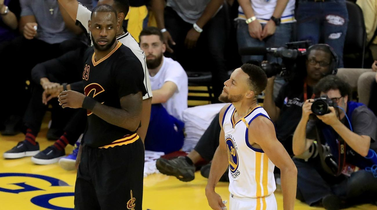 c1a9e1845fa NBA Finals 2017  Stephen Curry cooks LeBron James