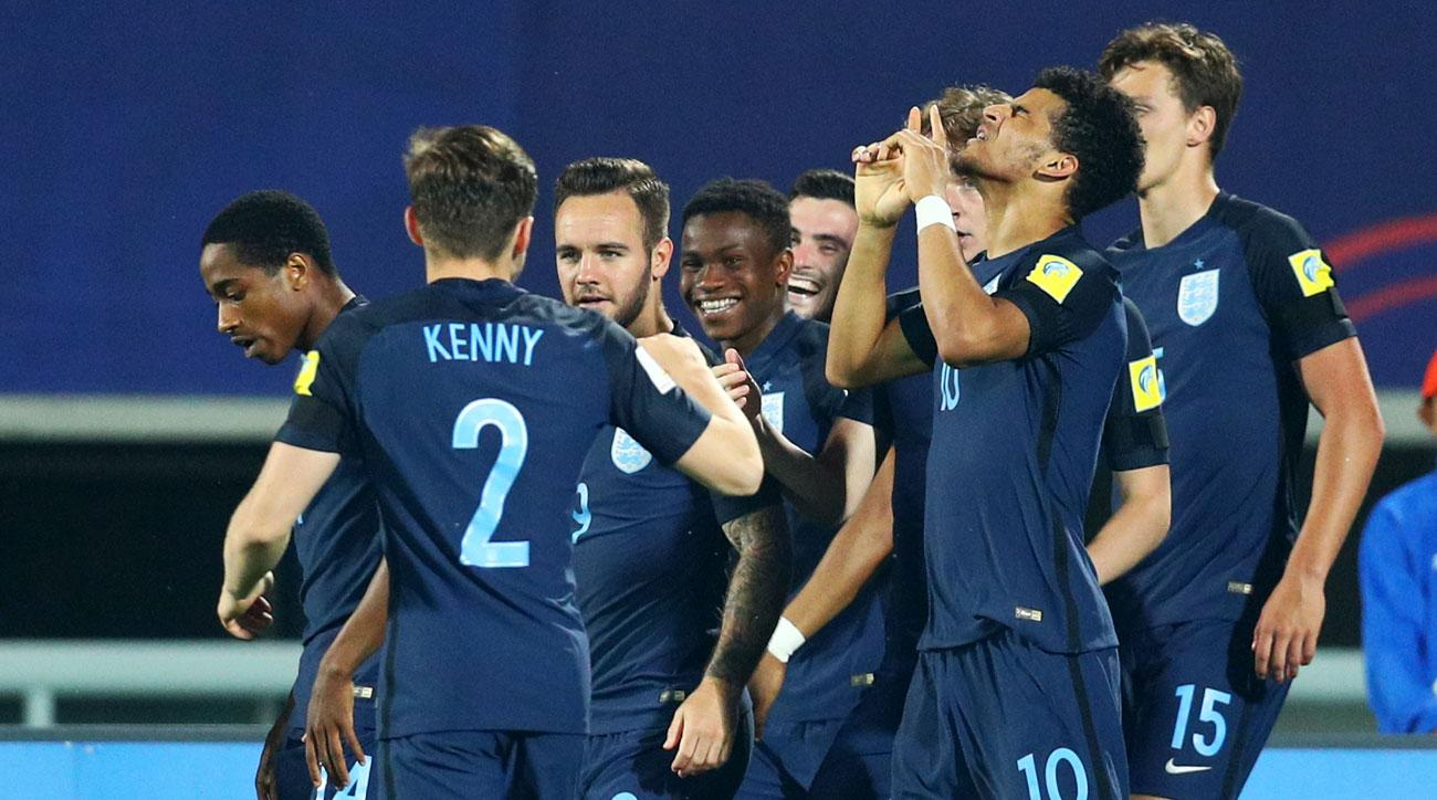 England beats Mexico to reach the U-20 World Cup semifinals