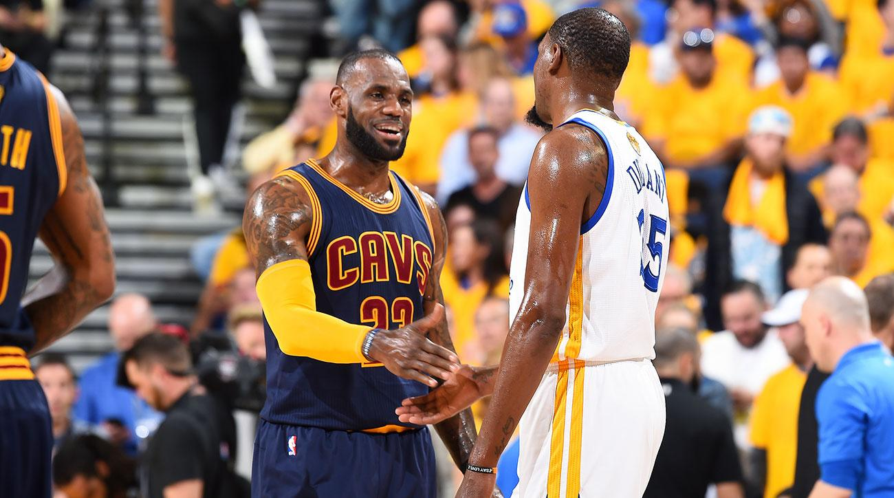 Has Kevin Durant snatched the 'best player in the NBA' crown from LeBron James?