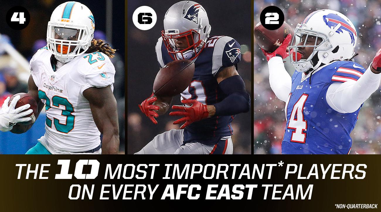 NFL player rankings: 10 most important spots on every team
