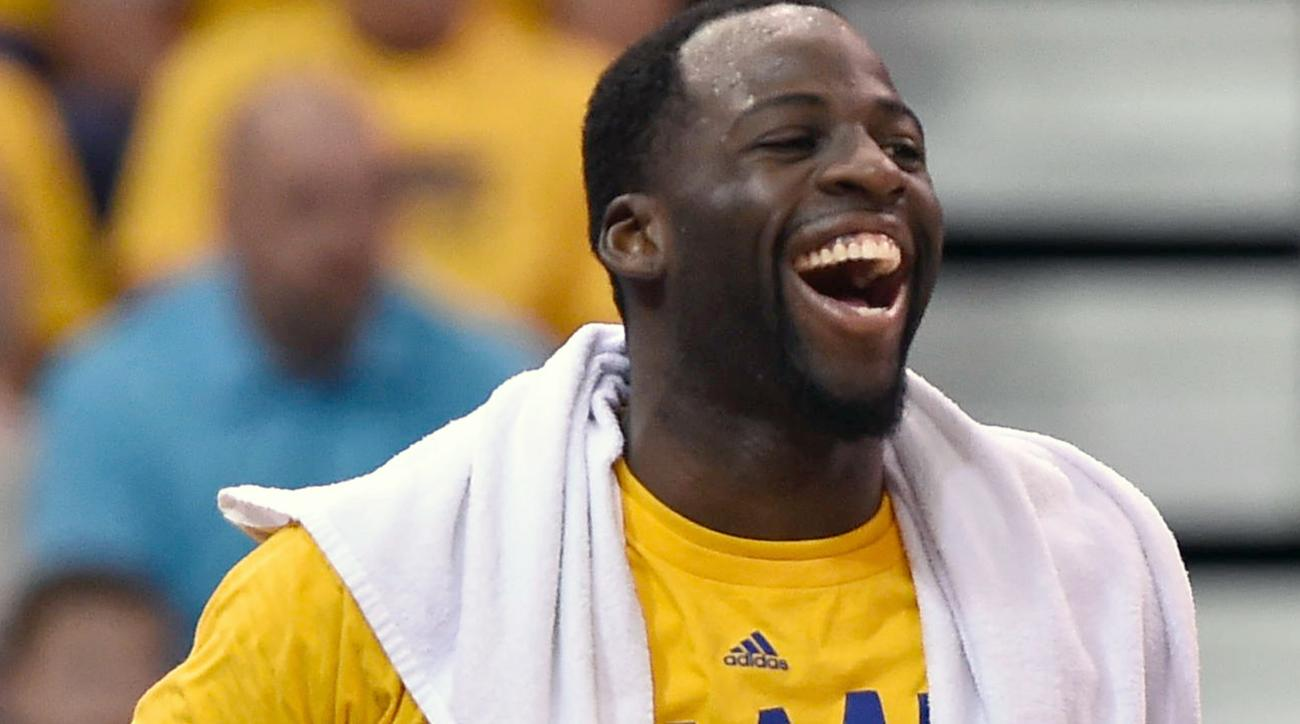 Draymond Green laughs at Magic Johnson's claim about sweeping Warriors