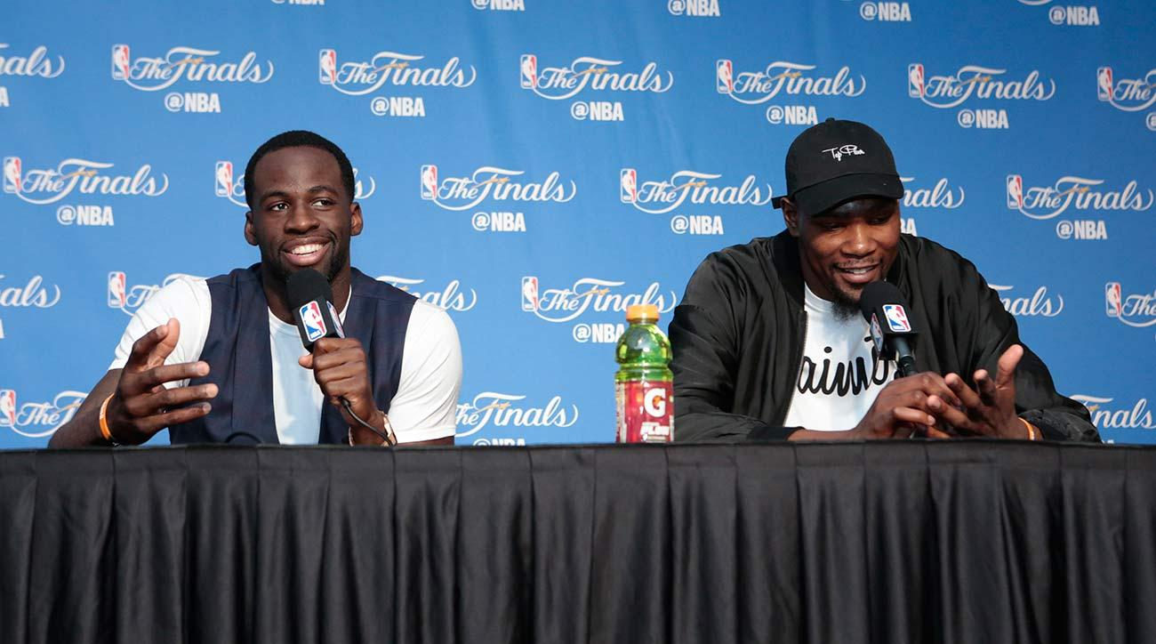 Ammunition for Cleveland? Draymond Green calls Cavs fans 'rude'