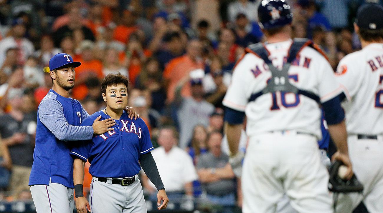 Texas Rangers, Houston Astros