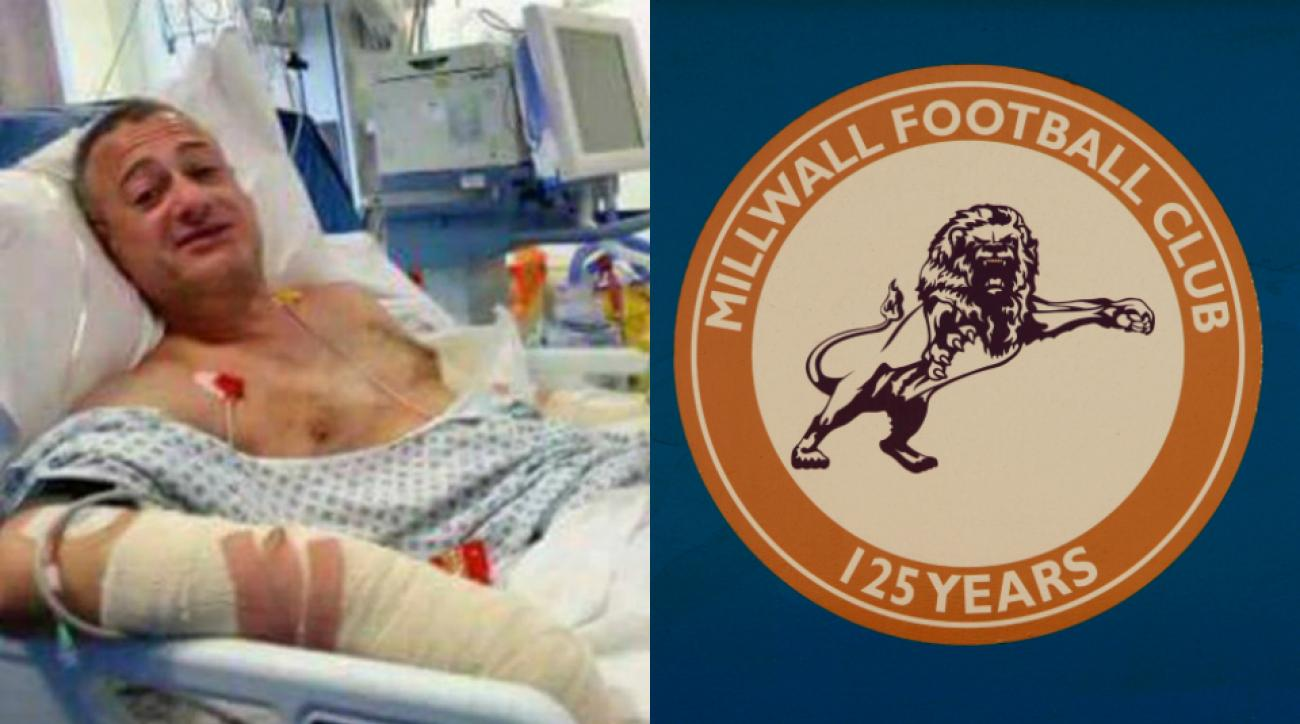 Roy Larner praised by Millwall FC for stopping terror attack