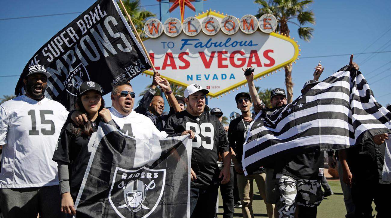 The Raiders soon will be headed to Las Vegas, giving the city two major professional sports franchises. The NHL's Golden Knights begin play there this fall.