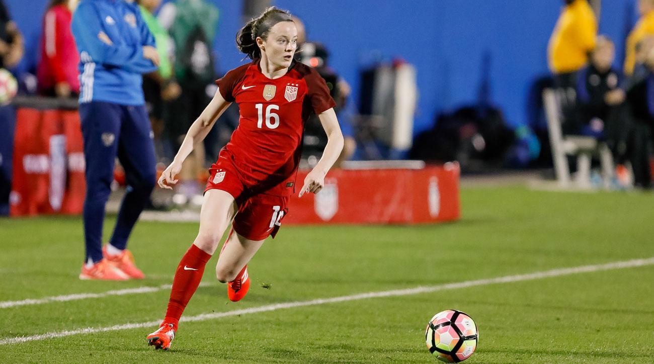 US women score in 2nd half, beat Sweden 1-0 in friendly
