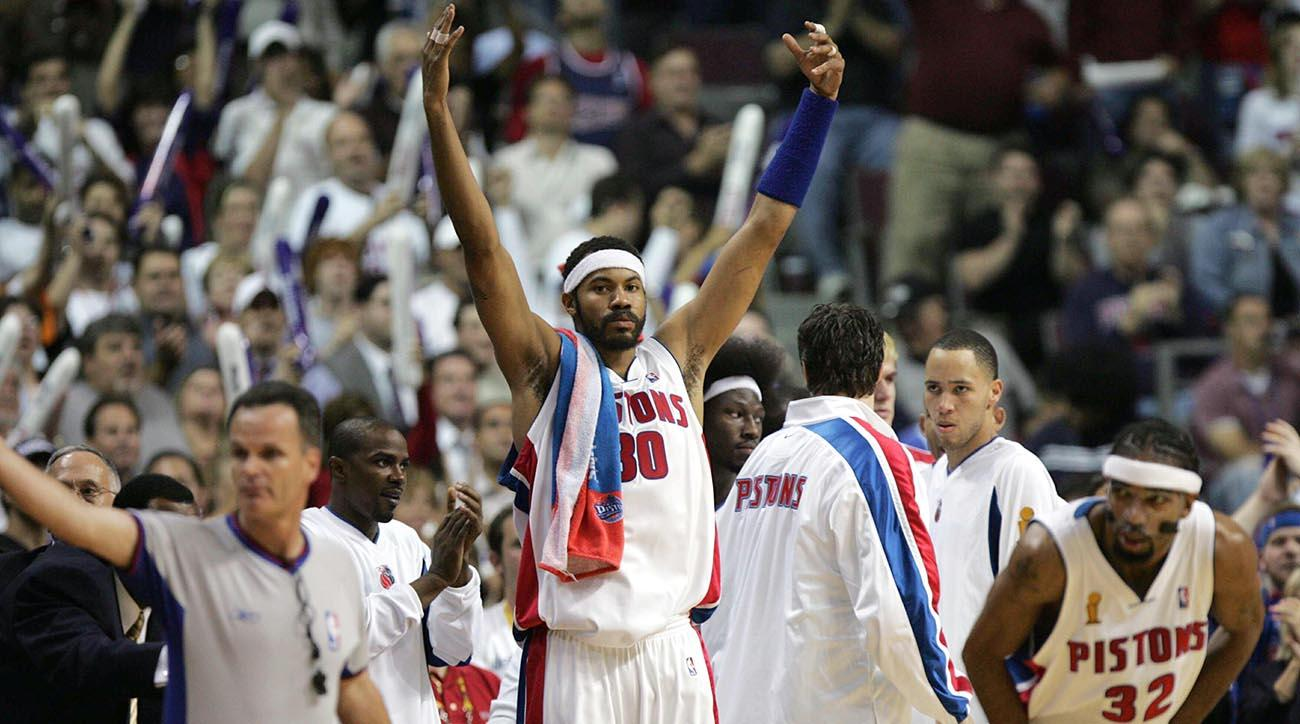 Rasheed Wallace 2004 Pistons Would Run Through Todays Nba Sicom