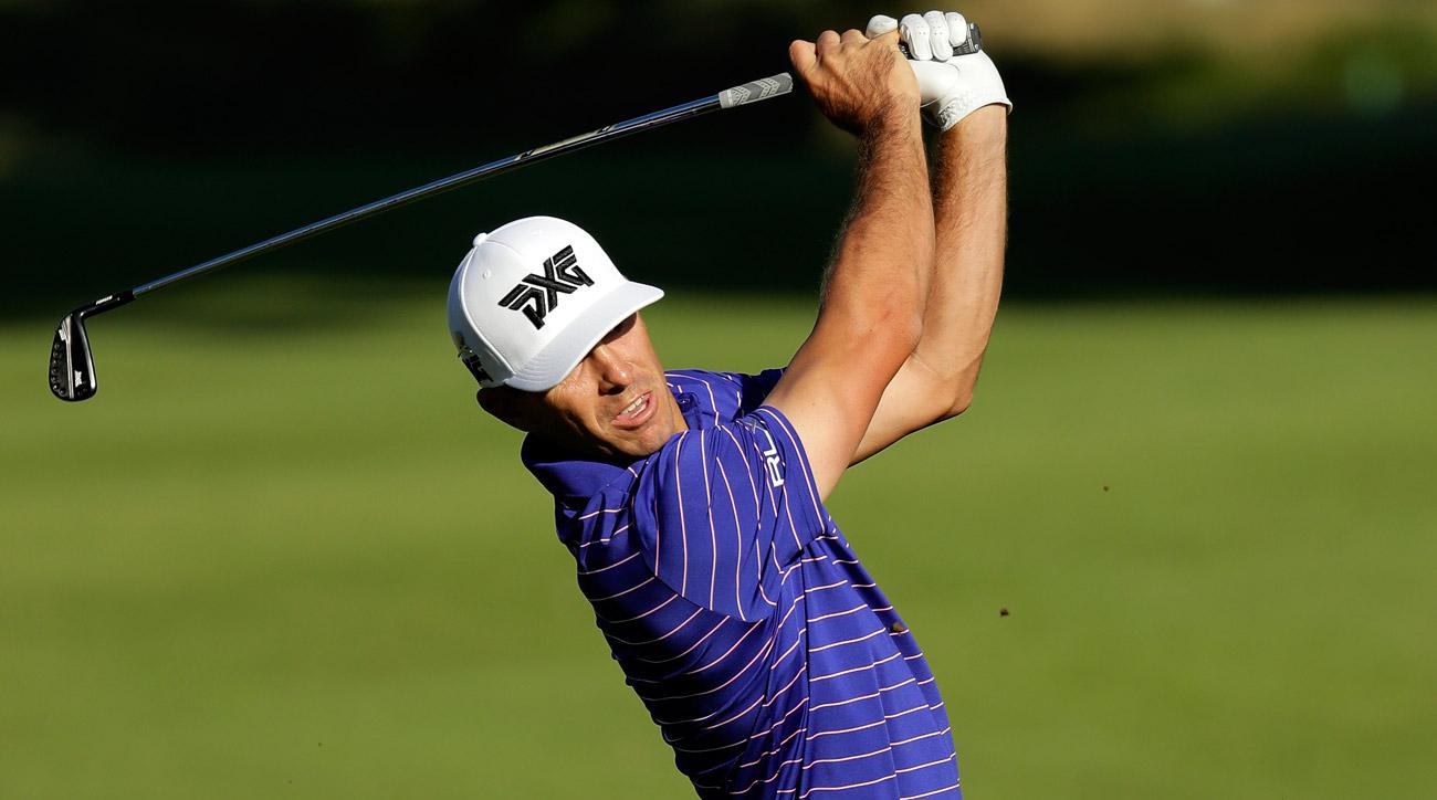 Despite having to finish his round with a fairway wood instead of a putter, Billy Horschel managed to shoot a round of 72 at the FedEx St. Jude Classic on Thursday.