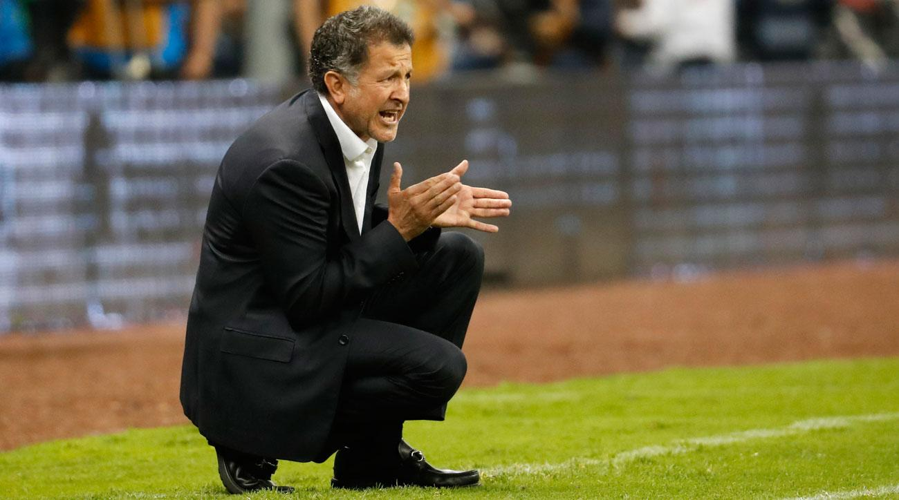 Mexico manager Juan Carlos Osorio has El Tri topping the CONCACAF Hexagonal