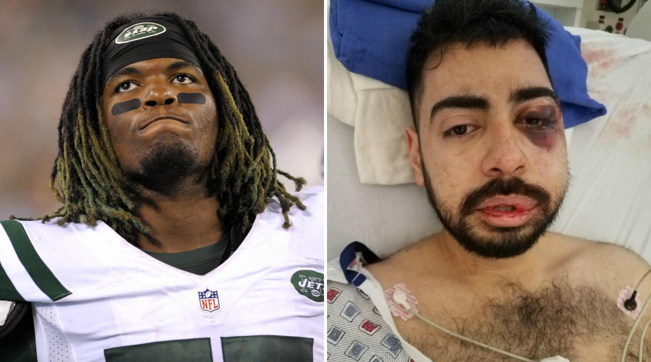 Lorenzo Mauldin lawsuit: Jets LB allegedly beat man