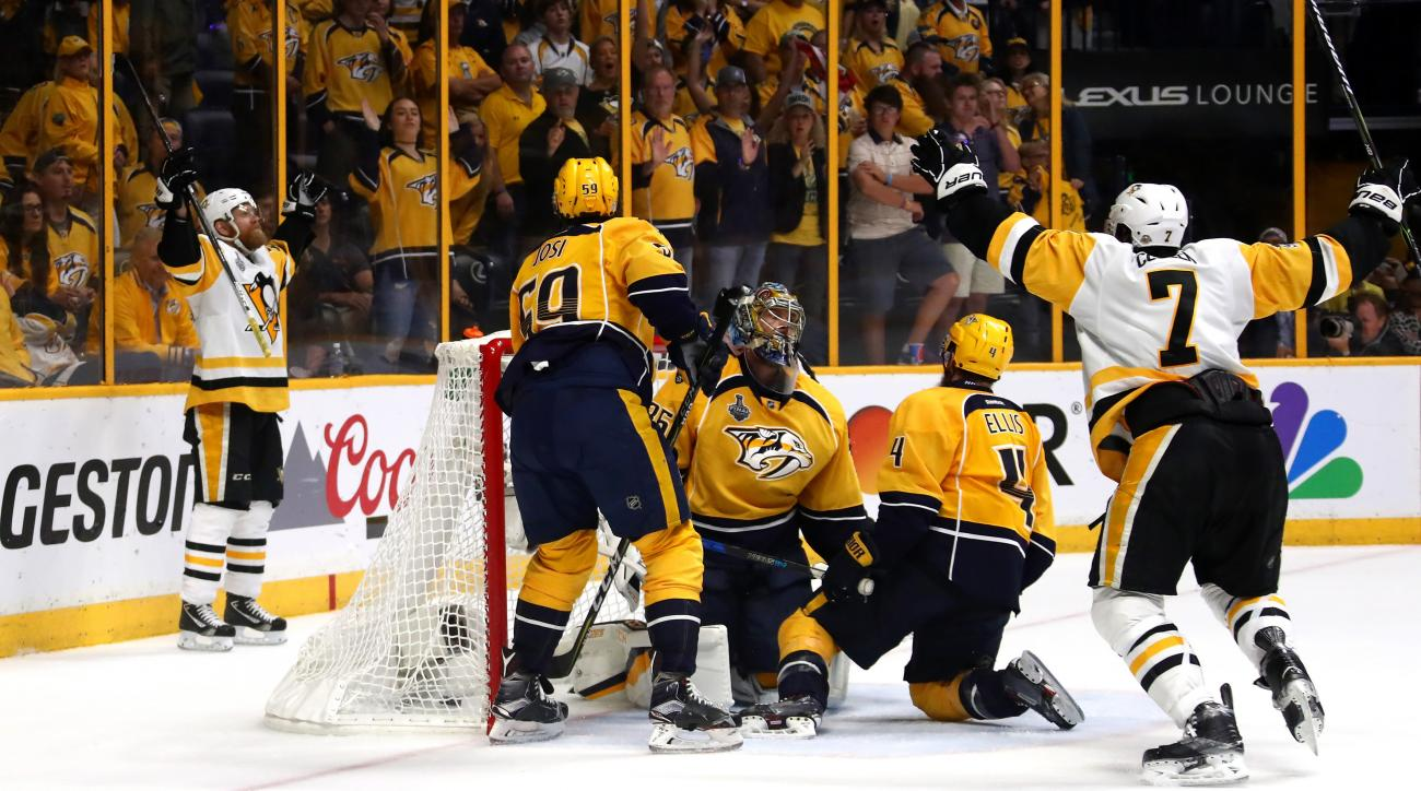 Patric Hornqvist goal: Penguins win Stanley Cup (video)
