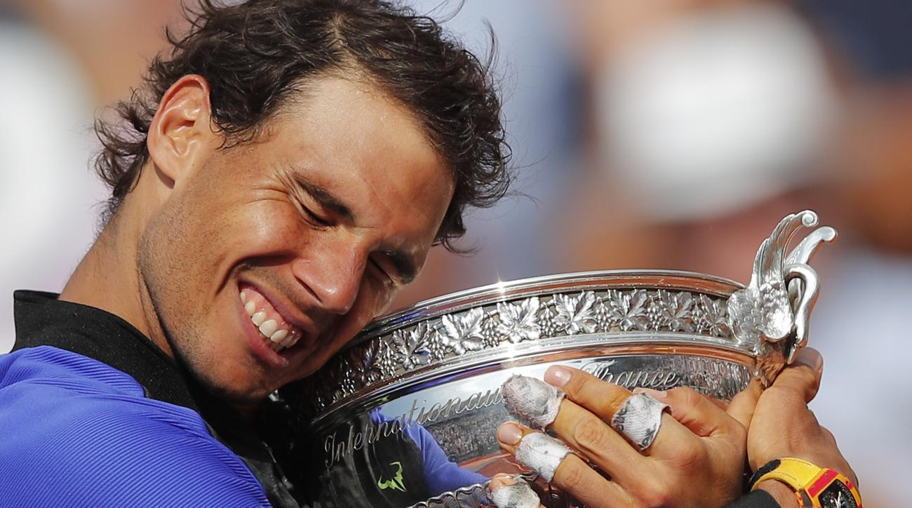 rafael nadal french open victory