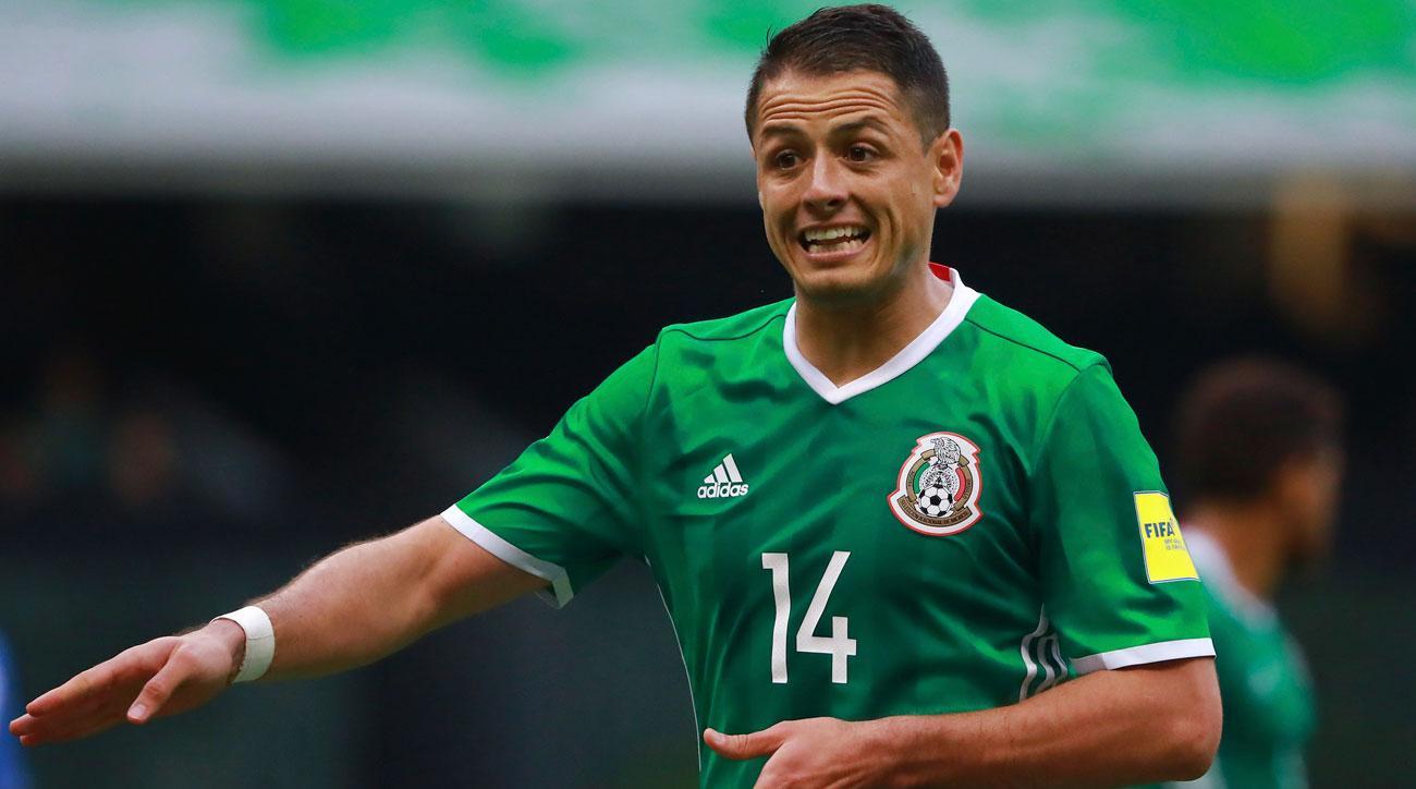 Javier Chicharito Hernandez and Mexico struggled to break down the USA