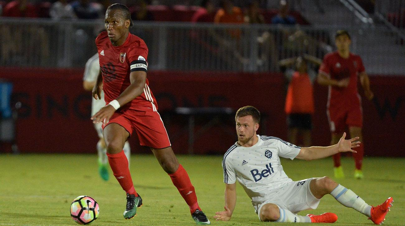 Didier Drogba scored on his debut for USL's Phoenix Rising FC