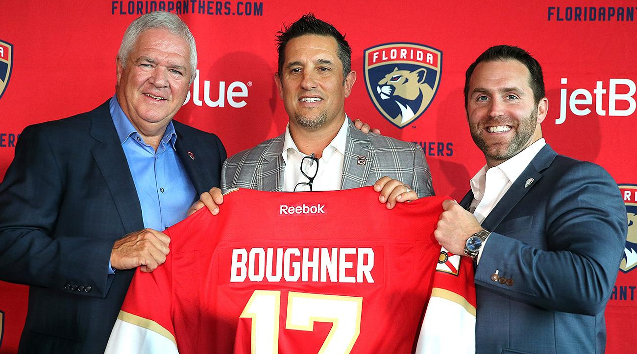 Florida Panthers Bob Boughner