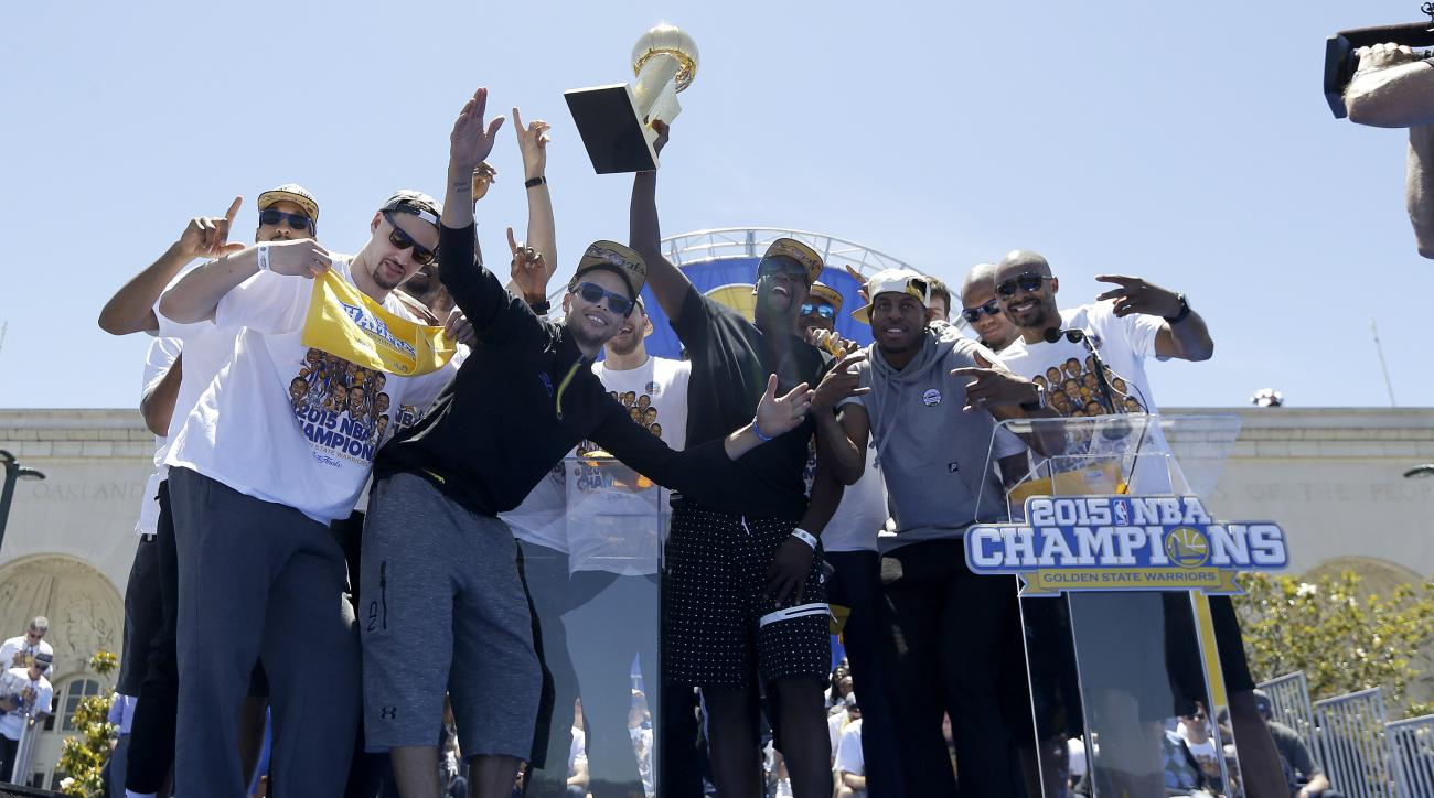 LeBron James Loved Being On Warriors' Minds During Their Championship Parade