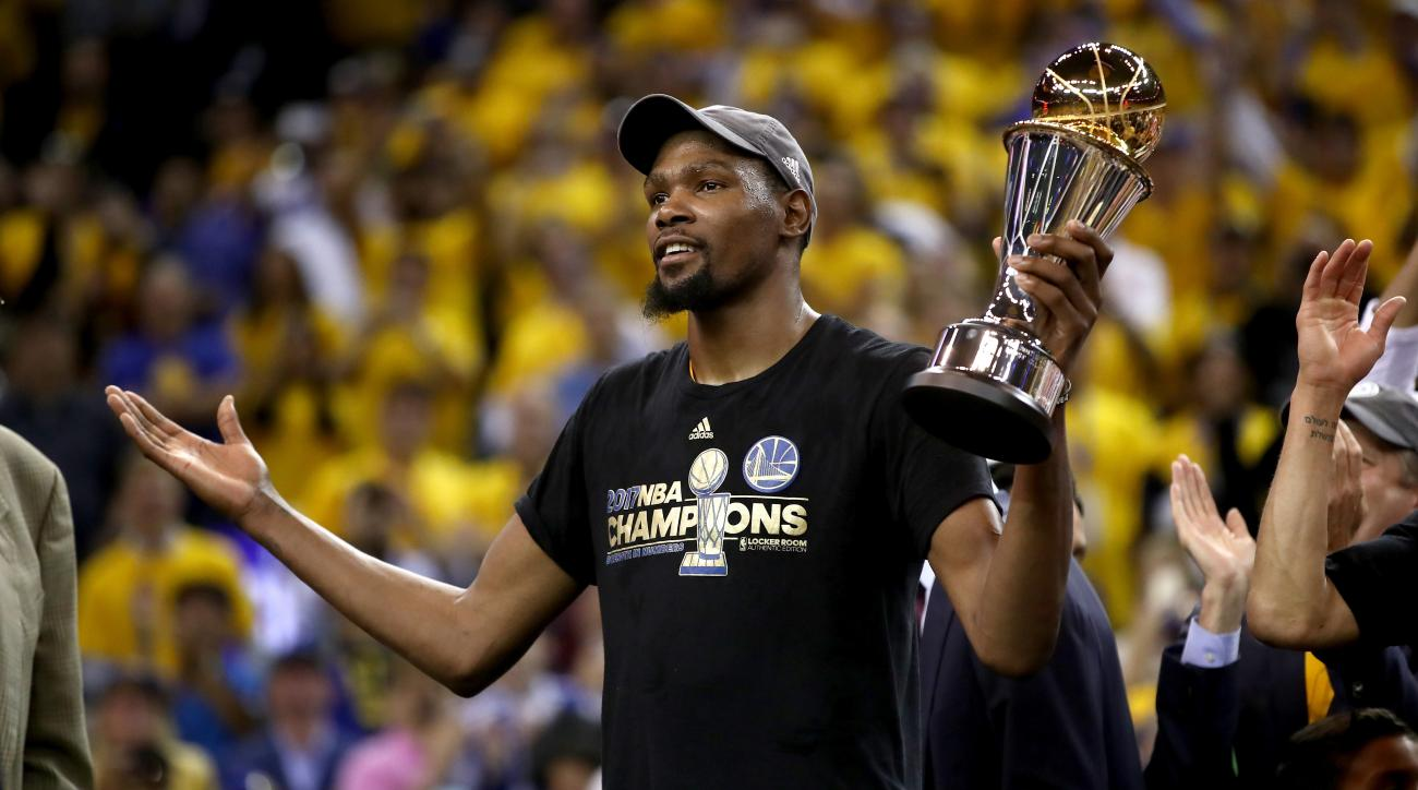 Golden State Warriors win NBA championship against Cleveland Cavaliers