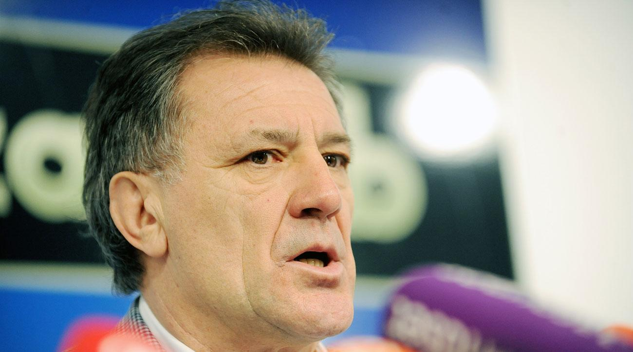Former Dinamo Zagreb director Zdravko Mamic is under trial for corruption