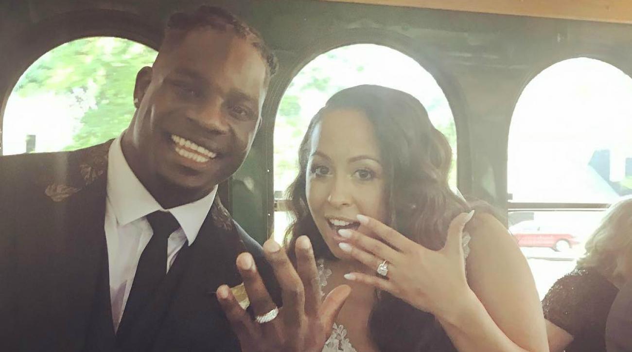 1f7746fe75d5 NFL s Sean Weatherspoon goes to four weddings in 7 weeks