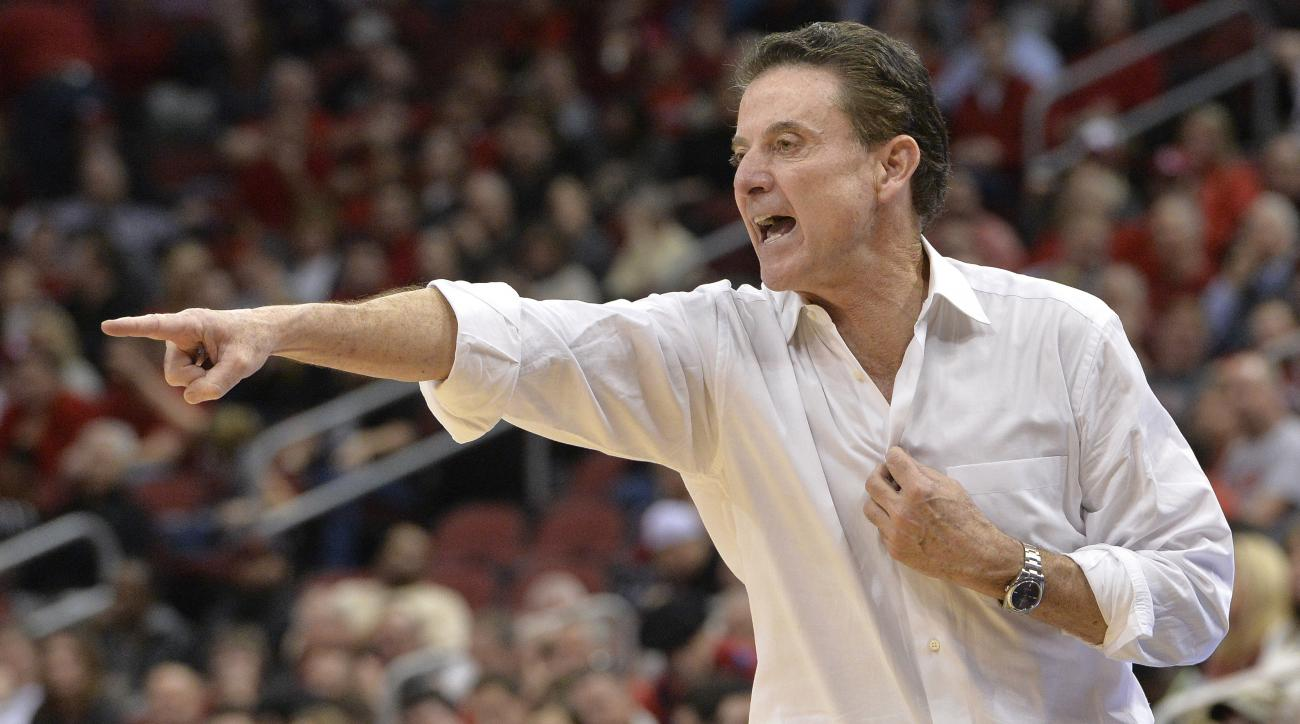 Louisville's Pitino suspended for 5 ACC games