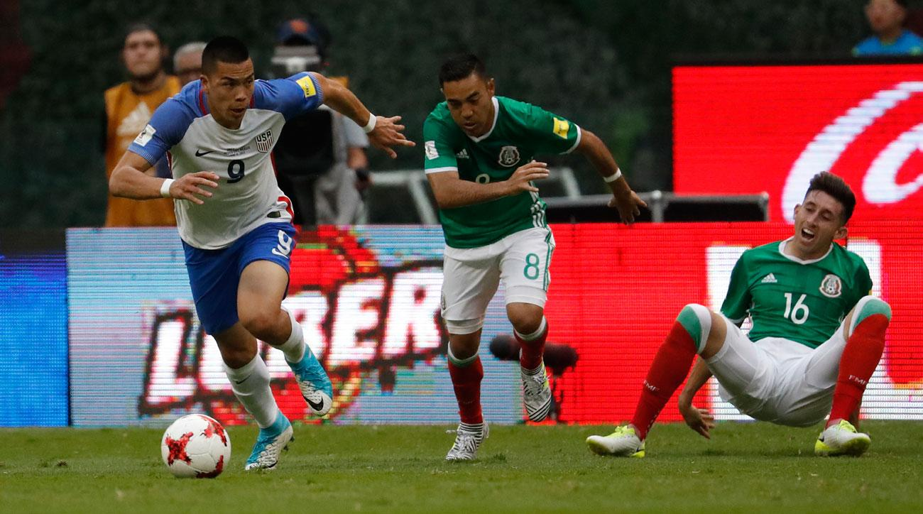 USA and Mexico are both on course to qualify for the 2017 World Cup