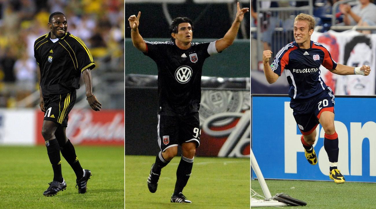 Jeff Cunningham, Jaime Moreno and Taylor Twellman are absent from the National Soccer Hall of Fame